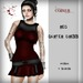 Corvus : Red Garter Dress