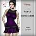 Corvus : Purple Garter Dress