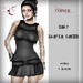Corvus : Gray Garter Dress