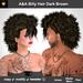 A&A Billy Hair Darkbrown, boxed