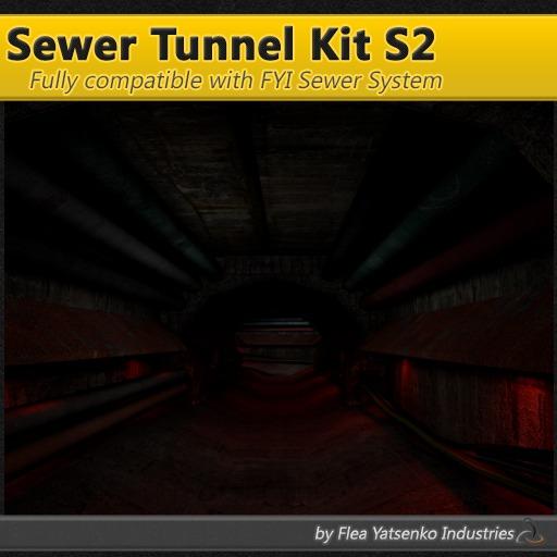 [FYI] Mesh Sewer Bunker Tunnel Kit S2 1.0.0