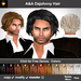 A&A Dajohnny Hair 11 Colors (short sexy wild men's hairstyle)