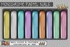 [ S H O C K ] Monochrome Pastel Nails XXL