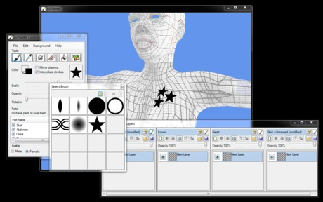 AvPainter - SL Clothes Design and Preview Tool - Full Version