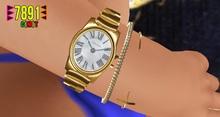 [7891.] Paid Watch Set - Gold (W\Rseize)