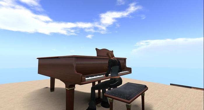 Brown Grand Pianos Mesh (Boxed)