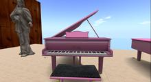 Pink  Grand Pianos Mesh (Boxed)