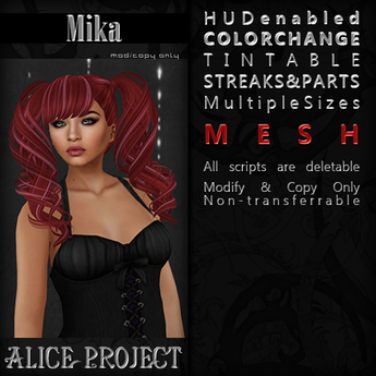 Alice Project - Mika - Infinity