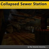 [FYI] Mesh Collapsed Large Sewer Station S1 For FYI SewerSystem