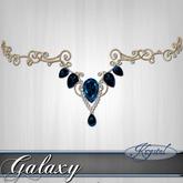::: Krystal ::: Galaxy - Circlet - Gold Nebula