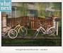 {what next) Huntington Bicycle Decor Set (decorative only)