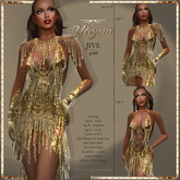 Utopia Jive gold - APPLIERS INCLUDED!