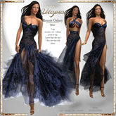 Utopia Roxane Galaxy blue - APPLIERS INCLUDED!
