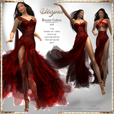 Utopia Roxane Galaxy red