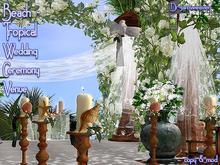 Dr3amweaver - Beach-Tropical Wedding Ceremony Venue