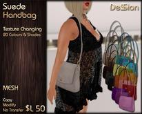 Suede Handbag - Texture Changing - Mesh *DeSSion*