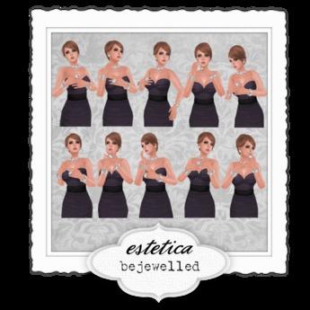estetica: bejewelled - 10 jewellery / accessories poses