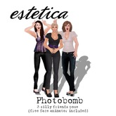 estetica: photobomb (3 silly friends pose)