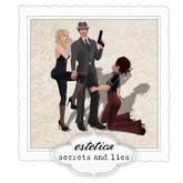 estetica: secrets and lies (secret agent pose)