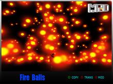 Fire balls  V1  red