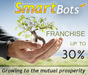 SmartBots Franchise - basic plan (upgradable, up to 30%)