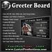 Greeter Board / Group Joiner / Visitor Counter