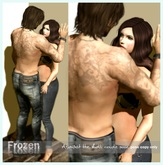 Frozen Couple Pose - Against The Wall