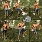Vanity Poses - Soccer Time!