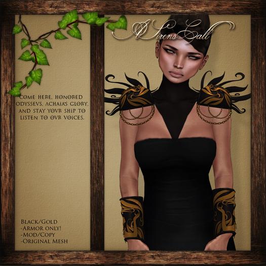 .:GSpot:. A Sirens Call BLACK/GOLD