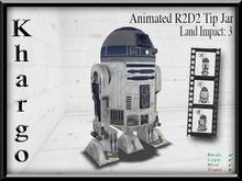 Khargo: Animated R2D2 Tip Jar / Tipjar
