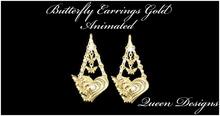 Butterfly Earrings Gold