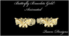 Butterfly bracelets gold 001