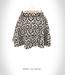 *MIMOSA* Fancy B&W Skirt