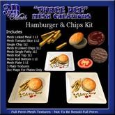 TD Mesh Hamburger & Chips Kit
