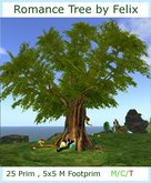 Free Gift Romance Tree 25 prim