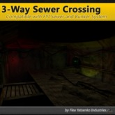 [FYI] 3Way Mesh Sewer Bunker Intersection for Sewer Tunnel Kit