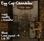 Egg-cup chandelier 2-mesh
