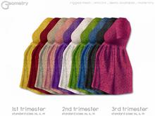 < Geometry > Tee Dress . Tiny Flowers > All Colors