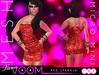 VaVaVOOM ! - Micro Mini > Red Sparkle *MESH*