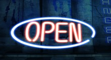 {R&S} Yummy Inc. Open Sign (Neon)