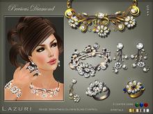 [< Lazuri >]  Precious Diamond Set Metal Change - SALE