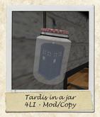 [SugarComa] Tardis in a Jar