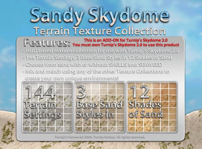 Turnip's Skydome: Sandy Terrain Texture Collection