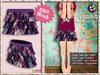 [SKM] Priscilla Layered Mini Skirt MESH