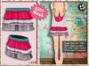 [SKM] SweetiePie Layered Mini Skirt MESH