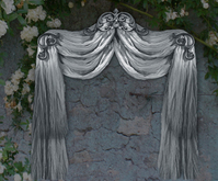 NB curtain drapes tenda grey
