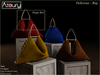 AZOURY - Delicious Bag  Red