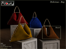 AZOURY - Delicious Bag  Russet