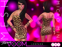VaVaVOOM ! - Micro Mini > Leopard *MESH*