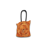 [croire] Vintage Floral Tote Bag - Indie Hipster Accessories (creamsicle) (3 handle/button colors included, 2 poses)